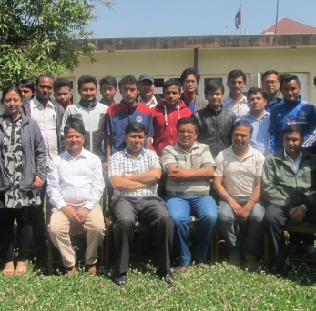 """Closing Ceremonyof 1stand 2nd batch of """"Survey-Design  Training of Micro hydropower Project"""""""