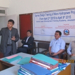 Training on Survey and Design of Micro-Hydropower Project